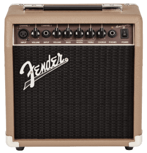 Fender Acoustasonic 15 Watt Acoustic Guitar Amplifier