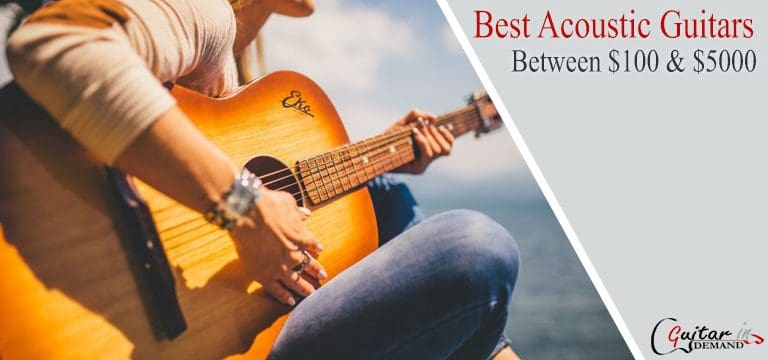 40+ Best Acoustic Guitar Reviews 2020 - Between $100 & $5000