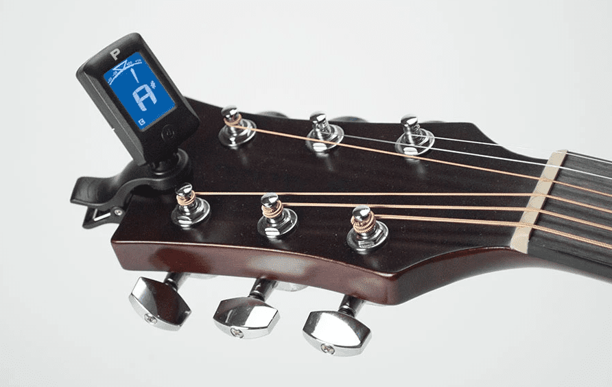 How to Tune an Acoustic Guitar with Clip-on Tuners