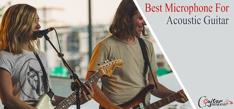 Best Microphone For Acoustic Guitar