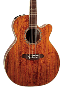 Takamine Pro Series EF508KC NEX All Koa Acoustic-Electric Guitar