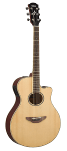 Yamaha APX600 NA Thin Body Acoustic-Electric Guitar